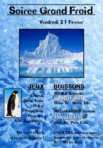 affiche froid