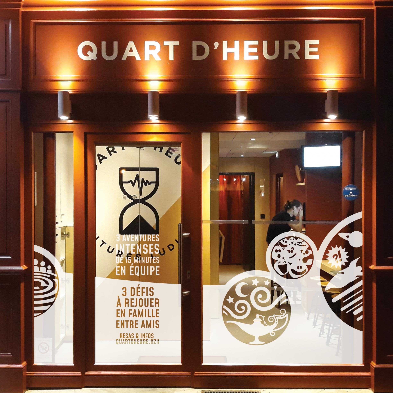 QUART D'HEURE